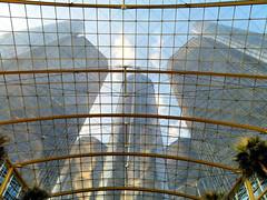 Renaissance Center, Detroit, Michigan (duaneschermerhorn) Tags: building structure highrise skyscraper edifice architecture architect sky blue modern contemporary modernarchitecture contemporaryarchitecture