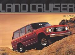 1985 TOYOTA Land Cruiser (Hugo-90) Tags: toyota 1985 landcruiser station wagon suv ads advertising brochure catalog auto automobile truck