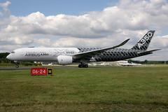 Airbus A350-941 (nickchalloner) Tags: airbus a350941 a350900 a350 941 900 fwwcf farnborough international airshow 2016 fia fab eglf airport