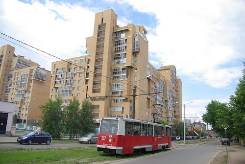 Irkutsk tram 71-605 207 ©  trolleway