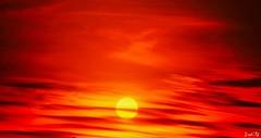Red Sunset (traptiantiwary) Tags: evening sunset sunsetsky cloudsandsky redsunset nature canon canondslr india