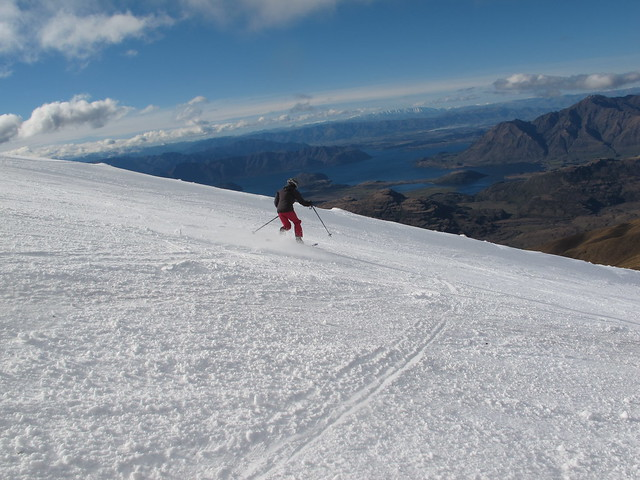 Raffills Run - Treble Cone, Wanaka NZ