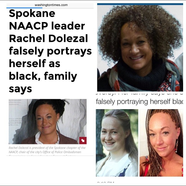 This world is polluted with a bunch of nut cases, no lie! NAACP President of the Spokane Chapter, RACHEL DOLEZAL, is one of them! Let me tell you what she did. Apparently her estranged white parents who are of Czech, Swedish, & German decent decided to bl