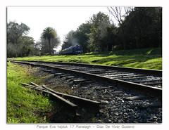 Parque Eva hajduk 17 Ranelagh - Diaz De Vivar Gustavo (Diaz De Vivar Gustavo) Tags: parque argentina train de tren eva buenos aires paisaje gustavo 17 roca transporte diaz ranelagh hajduk ferrocarril vias vivar