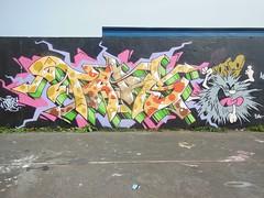 Tars AA Crew EDK (TARSizm) Tags: graffiti letters cartoon tars captaincaveman edk aacrew