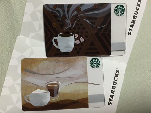 Starbucks Card AROMA MELT