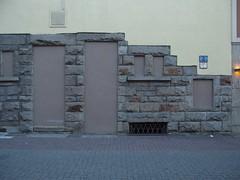 Last Exit (mkorsakov) Tags: door wall wand wtf foundface dortmund tr hrde zugemauert