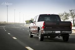 Silverado Chevrolet (hisalman) Tags: road street chevrolet canon dubai offroad silverado 70d