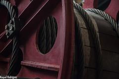 MUMI (Asturias) (Dinacast) Tags: rojo asturias mina rueda mumi engranaje museominero