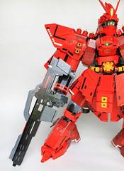 Sazabi Gun Detail (Imagine) Tags: lego gundam mech 2015 sazabi brickworld lifelites imaginerigney