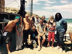 G. Giokarinis and L. Papadopoulos, Matala Beach Festival, 2015
