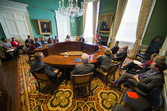 Last Cabinet Meeting (Eric Haynes Photography) Tags: boston massachusetts unitedstatesofamerica meeting 360 governor government beaconhill statehouse devalpatrick mapoli massgovernor erichaynes erichaynescom
