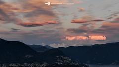 #005 Nuvole lenticolari - Luganese (Enrico Boggia | Photography) Tags: clouds nuvole giugno paesaggio luganese 2015 montebrè lenticolare enricoboggia lentocolari