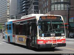 Toronto Transit Commission #1612 (vb5215's Transportation Gallery) Tags: toronto transit orion ng 2008 commission vii hev