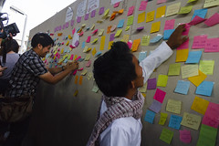 20150703-Post It-53 (Sora_Wong69) Tags: people thailand bangkok activist politic militaryjunta anticoup article44 nonviolentmovement