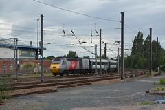 "Virgin Trains East Coast Class 43, 43309 (37190 ""Dalzell"") Tags: york red grey rebuild eastcoast mtu hst virgintrains vtec highspeedtrain class43 43109 43309 brushtraction brelcrewe rhombuslogo"