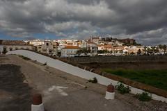Puente de Silves-2 (eolo19472) Tags: portugal cielo nubes silves puentemedieval elalgarve pueblohistorico