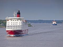 Amorella (Franz Airiman) Tags: cruise sweden stockholm balticsea baltic cruiseship scandinavia viking vikingline birka birkacruises amorella birkastockholm