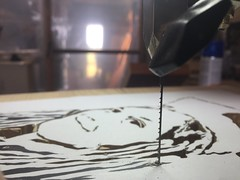 Making a Portrait Silhouette