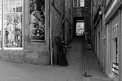 Edinburgh | Ancillary Urbanity 15 (Christopher James Botham) Tags: street city uk urban bw white black grey mono scotland edinburgh cityscape britain sony gray urbanism streetscape urbanity a65