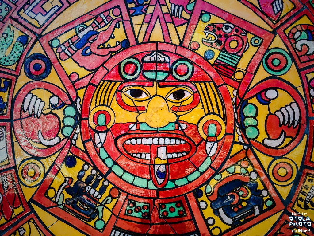 The world 39 s most recently posted photos of iphone and for Aztec mural painting