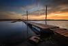 The Bridge (Tony N.) Tags: wood longexposure bridge sunset sea sky orange mer france colors clouds pier nikon europe couleurs ciel pont nuages bois ponton coucherdesoleil manfrotto vendée poselongue d810 nd110 tonyn lafautesurmer nikkor1635f4 tonynunkovics