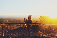Times Forever Frozen Still (Amanda Mabel) Tags: travel winter sunset portrait view horizon surreal australia roadtrip bluemountains wanderlust photograph faceless magichour vast edsheeran amandamabel timesforeverfrozenstill