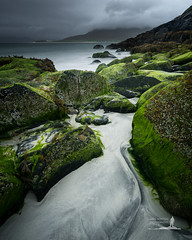 Passaggio (Greg Whitton Photography) Tags: harris hebrides landscape lewis outer scotland seascape sony a7rii horgabost beach rocks seaweed moody storm cloudy
