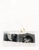 ({anna malina}) Tags: art laserprint stickytape gold acrylic blackandwhite selfportrait paper mixedmedia 2014