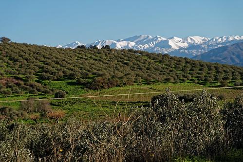 Lefka Ori (White Mountains), view from Gerakiana