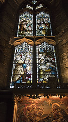 the light fantastic - HWW! (lunaryuna) Tags: scotland edinburgh capital cathedral stgilescathedral sacralarchitecture stainedglasswindow archtiecturalinterior thelightfantastic window windowswednesday lunaryuna