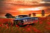 Chevrolet Impara SS 409 1964 (@Britney Beyonce) Tags: car worldcars americancar chevrolet impala classiccar forzahorizon2 photoshop automobile auto hdr pixabay platinumheartaward