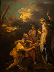 """The Finding of Moses"", Salvatore Rosa, 1650s (Joey Hinton) Tags: olympus omd em1 cincinnati art museum mft m43 microfourthirds 1240mm f28"