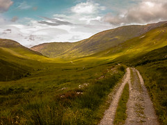 And I would walk 500 miles... (dmunro100) Tags: scotland westhighlandway lairigmor beauty scenic remote wilderness bleak summer