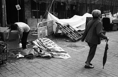 (David Davidoff) Tags: people street hardlife elderly scavengingcardboardboxes garbagepicker