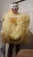 Yellow (Maid Honey) Tags: sissy maid