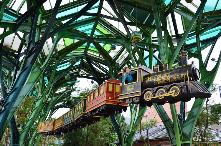 [宜蘭]丟丟噹森林廣場。幾米星空列車,讓夢想飛天翱翔