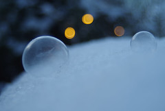 Epiphany (STTH64) Tags: epiphany bubble ice snow winter cold soap water frozen light christmaslight dof
