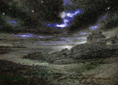Oil Paint (Daddy Blue) Tags: wales scene oil paint adobe effects cs5 manip manipulation