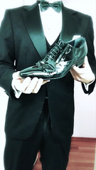 tumblr_inline_nxvaznZKD61swvfna_540 (shinydressshoes) Tags: tux tuxedo tails tailcoat frack formalwear formal whitetie blacktie patent leather shiny dress shoes lackschuh lackschuhe suited tuxed suitguy tuxguy patentleather dressshoes