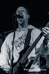 Screaming vocals (vantagepointrocks) Tags: edinburgh vantagepoint murraygraham hardrock heavymetal bombskare bassguitar bcrich