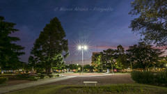 """Luces estrelladas"" - ""Starry Lights"" (marcos.h_alvarez) Tags: noche night luces estrelladas starry ights plazasanmartín daireaux provinciadebuenosaires argentina paisajesurbanos cityscape"