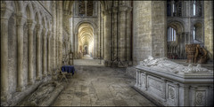 Peterborough Cathedral 13 (Darwinsgift) Tags: peterborough cathederal architecture interior cambridgeshire pce nikkor 24mm f35 ed mf nikon d810 hdr photomatix photoshop photostich cathedral