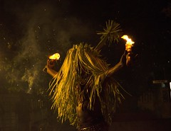 Mudiyattu (SANAND K) Tags: mudiyattu kerala folklore art form malabar dtpc kollam utsavam 8pointartcafe night fire torches