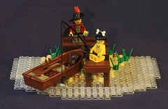 Longing for new adventures (Beorthan) Tags: bobs montoya lego beach
