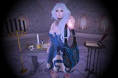 Inspired Me Challenge- Post #11 (Kelpie Snow) Tags: sl freebie secondlife cheap cute dark pagan love light wicca damselfly hair dresses tattoos