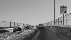 IMG_20170112_093412 (rskim119) Tags: portland or oregon winter snow storm white 2017 historic beaverton google nexus 6p huawei snowy icy road freeway bridge abandoned vehicles cars