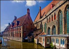 Brugge - Old Hospital (angelofruhr) Tags: supershot brügge historisch