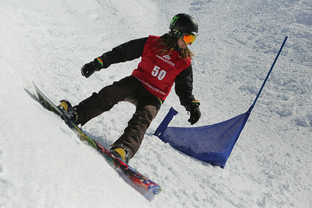 DB Export Banked Slalom 2014 - Treble Cone - Wayne Smith