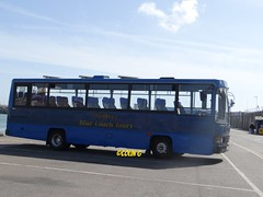 Tantivy 15 (Coco the Jerzee Busman) Tags: uk blue bus islands coach camo renault cannon jersey swift dennis tours dart channel leyland lcb plaxton tantivy